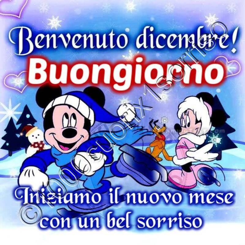 """""""Benvenuto Dicembre buongiorno ! Iniziamo il nuovo mese con un bel sorriso"""""""