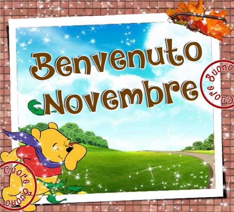 """Benvenuto Novembre"""