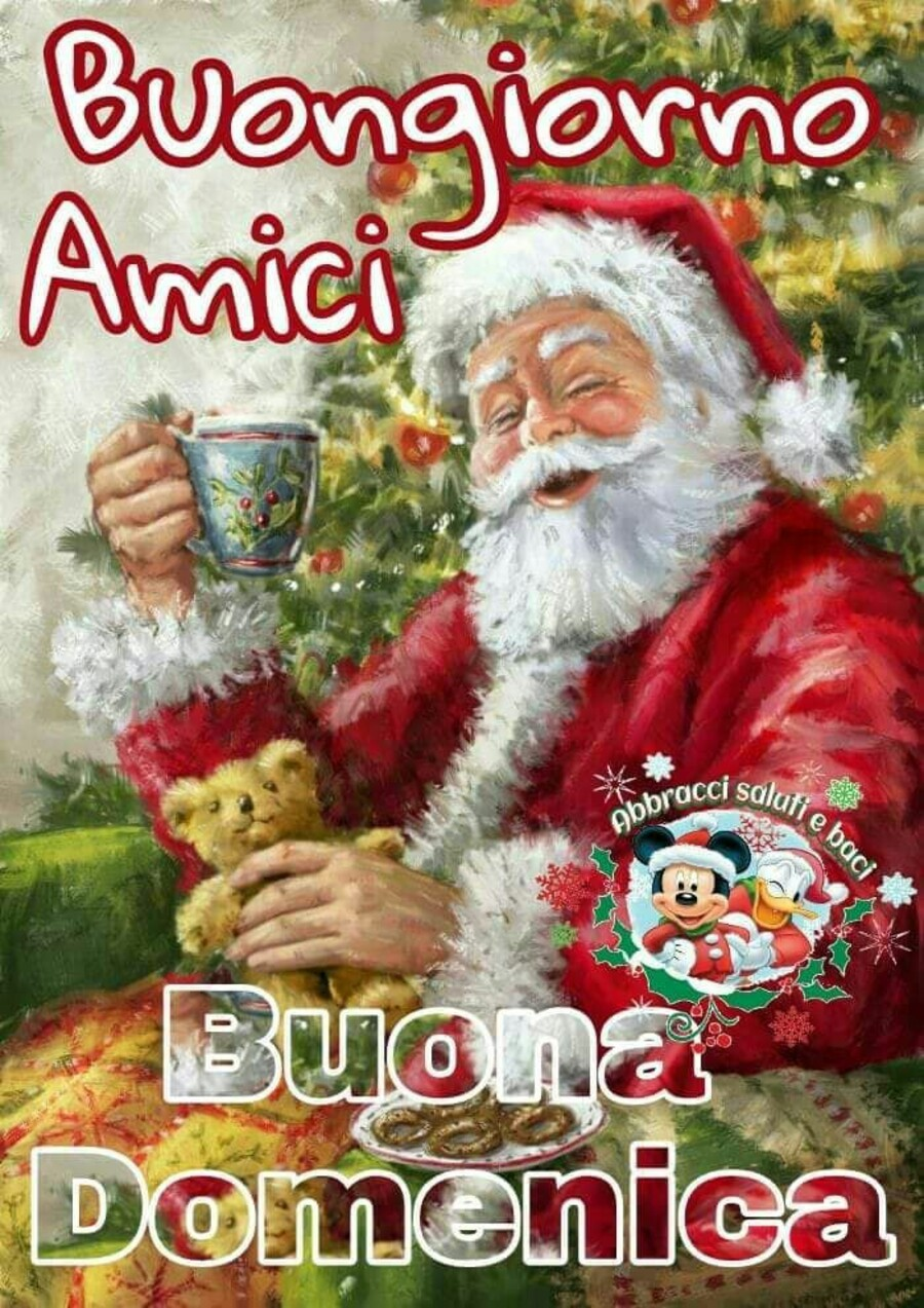 Buona Domenica immagini natalizie