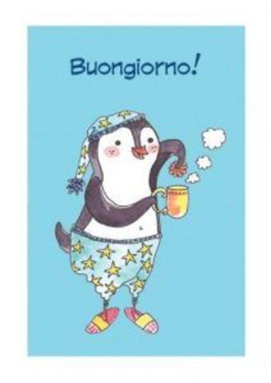 """""""Buongiorno!"""" - pinguino"""