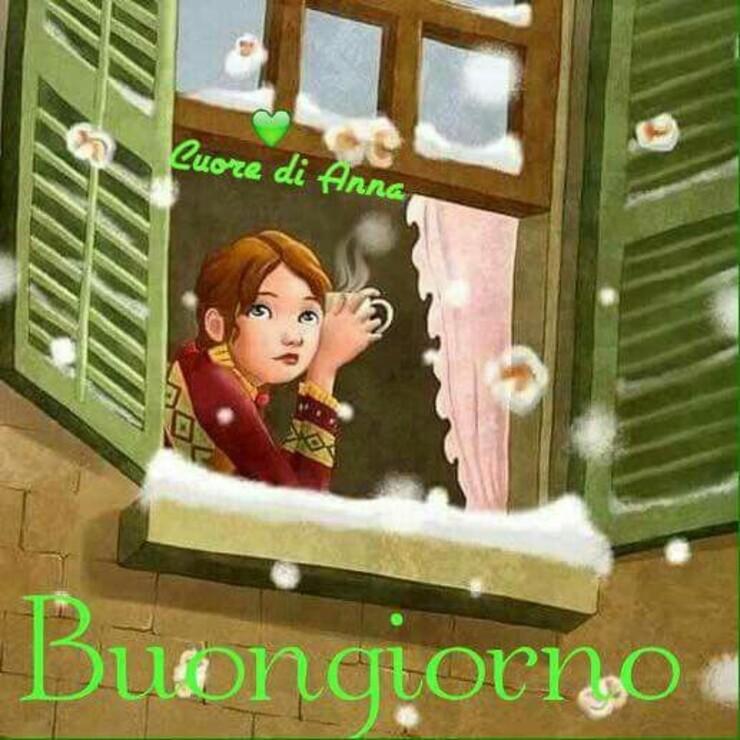 Buongiorno con la neve