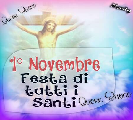 """""""1° Novembre Festa di Tutti i Santi"""""""
