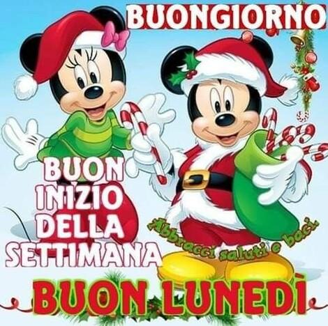 """Buon Lunedì natalizio - """"Felice Inizio di Settimana....."""""""