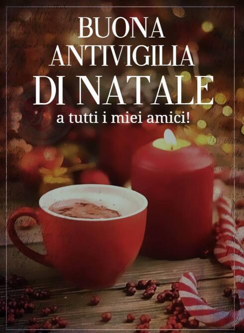 """""""Buona Antivigilia di Natale a tutti i miei amici!"""""""