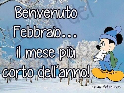 Buon 1° Febbraio da Topolino