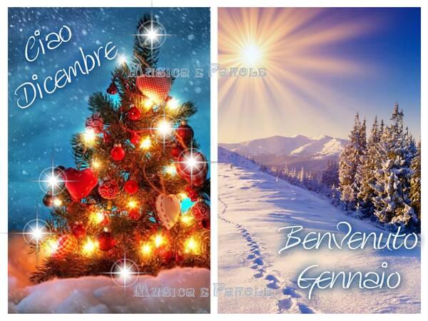 """Ciao Dicembre, Bentornato Gennaio"""