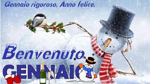 """""""Gennaio rigoroso, Anno Felice... Benvenuto Gennaio"""""""