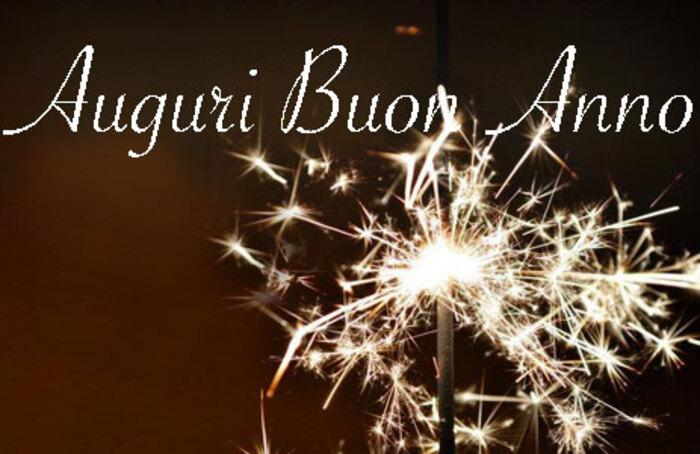 Buon Anno biglietti di auguri da condividere su Facebook