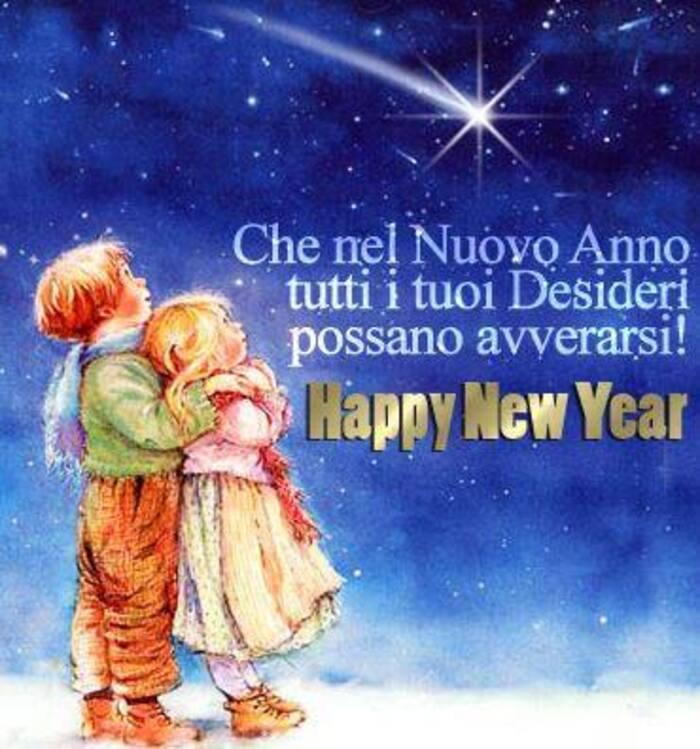 Buon Anno biglietti di auguri