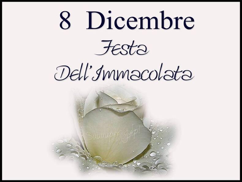 """""""8 Dicembre Festa dell'Immacolata"""""""