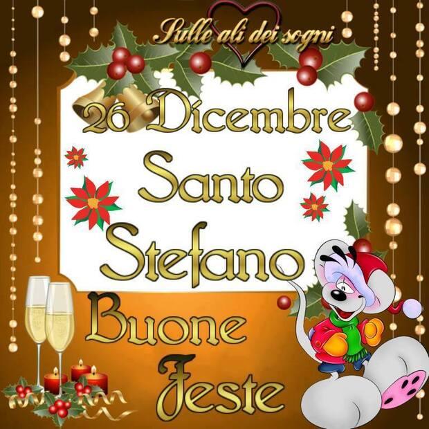 """""""26 Dicembre Santo Stefano, Buone Feste"""""""