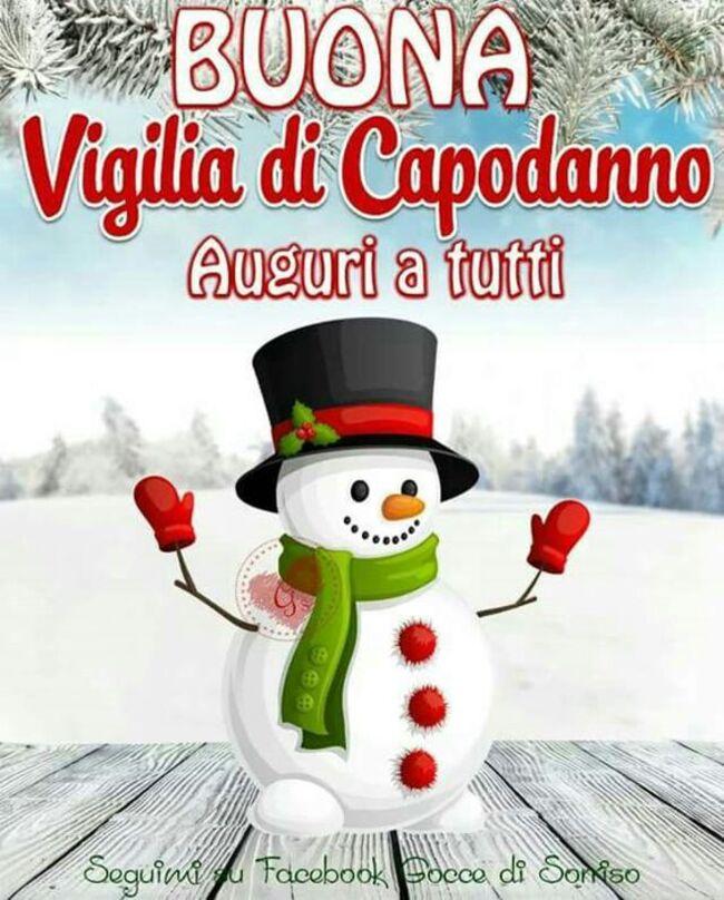 """""""Auguri a tutti, Buona Vigilia di Capodanno"""""""