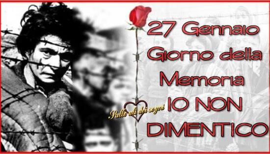 """""""IO NON DIMENTICO. 27 Gennaio, Giorno della Memoria"""""""