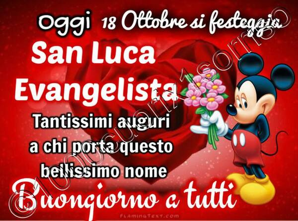 San Luca immagini di auguri