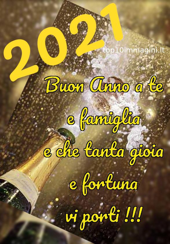 """""""2021 Buon Anno a te e famiglia e che tanta fortuna e gioia vi porti !!!"""""""