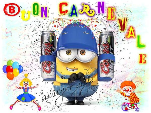Buon Carnevale dai Minions
