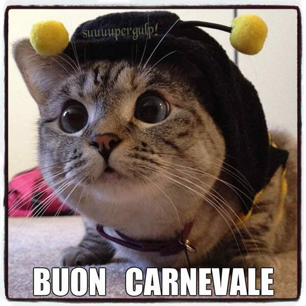 Immagini divertenti per gli auguri di Carnevale