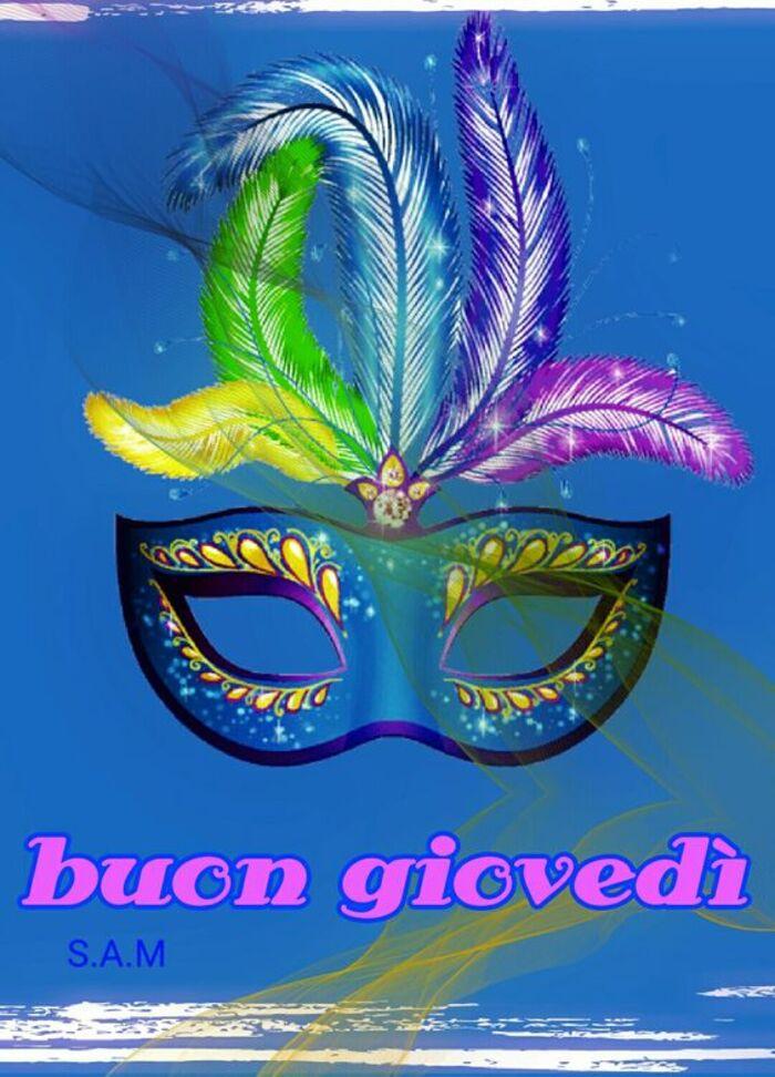 """""""Buon Giovedì"""" - immagini belle per il Carnevale"""
