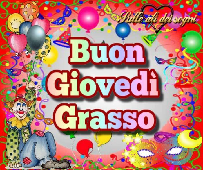 """Sulle Ali dei Sogni - """"Buon Giovedì Grasso"""""""