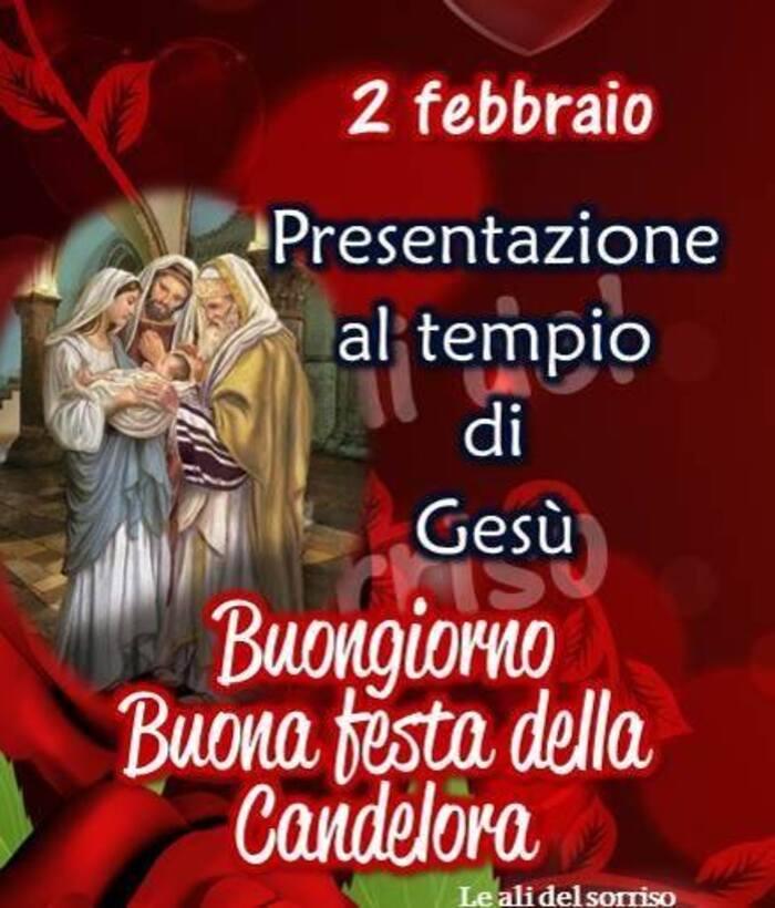"""""""Presentazione al Tempio di Gesù, Buongiorno Buona Festa della Candelora"""""""