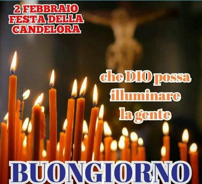 """""""Buongiorno, che Dio possa illuminare la gente, Festa della Candelora"""""""
