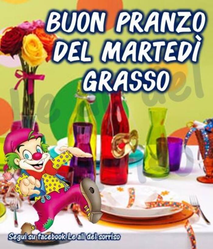 """""""Buon Pranzo del Martedì Grasso"""""""
