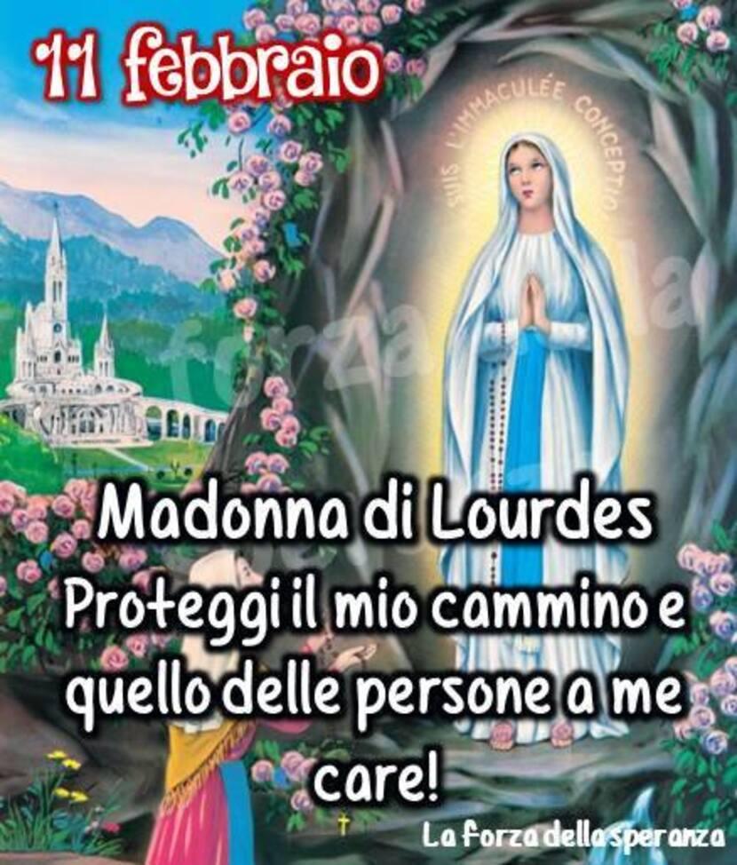 """""""Madonna di Lourdes, 11 Febbraio. Proteggi il mio cammino e quello delle persone a me care!"""""""