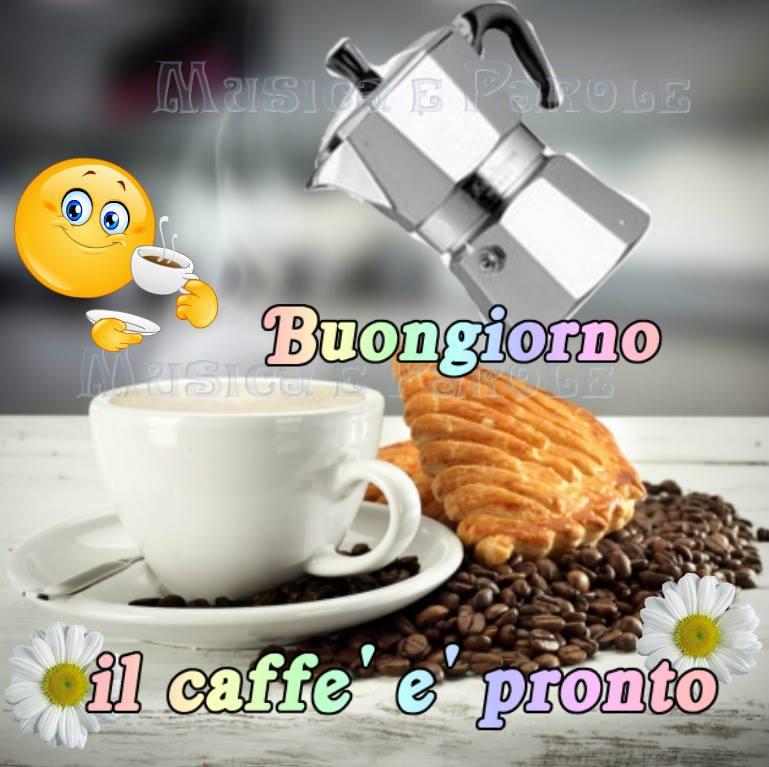 Buongiorno, il caffè è pronto! - Musica e Parole